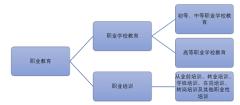 职业教育的分类