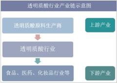 透明质酸行业产业链结构示意图