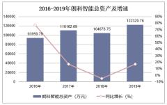 2016-2019年朗科智能(300543)总资产、营业收入、营业成本及净利润统计