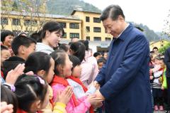 习近平指导教育扶贫托起贫困山乡未来