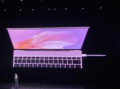 华为MateBook X正式发布:业内首款悬浮全面屏 售价7999元起