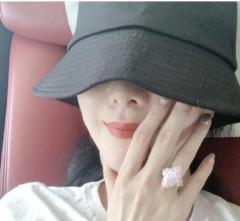 范冰冰晒生日美照 佩戴的粉钻戒指被指价值2200万