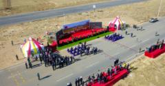 今年最出色国家公关项目 这才是援外的最高境界!蒙古向中国捐赠羊交接仪式举行!