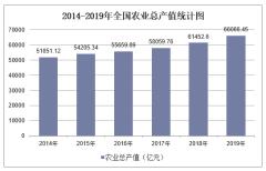 2019年全国农业总产值及各地区排行统计分析