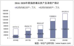 2016-2020年松炀资源(603863)总资产、营业收入、营业成本、净利润及每股收益统计