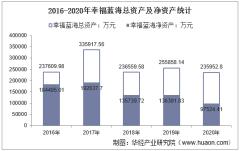 2016-2020年幸福蓝海(300528)总资产、营业收入、营业成本、净利润及股本结构统计
