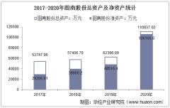 2017-2020年图南股份(300855)总资产、总负债、营业收入、营业成本及净利润统计