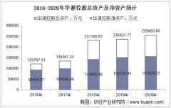2016-2020年华源控股(002787)总资产、营业收入、营业成本、净利润及每股收益统计