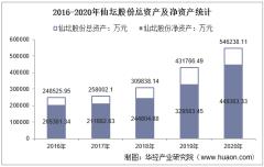 2016-2020年仙坛股份(002746)总资产、总负债、营业收入、营业成本及净利润统计