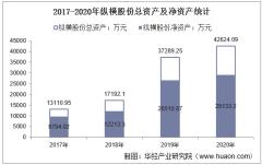 2017-2020年纵横股份(688070)总资产、总负债、营业收入、营业成本及净利润统计