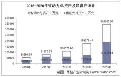 2016-2020年智动力(300686)总资产、总负债、营业收入、营业成本及净利润统计
