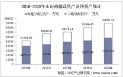 2016-2020年山河药辅(300452)总资产、营业收入、营业成本、净利润及股本结构统计