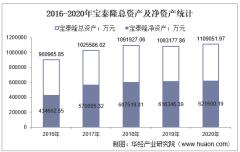 2016-2020年宝泰隆(601011)总资产、营业收入、营业成本、净利润及股本结构统计
