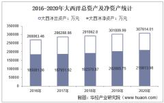 2016-2020年大西洋(600558)总资产、营业收入、营业成本、净利润及每股收益统计