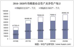 2016-2020年伟隆股份(002871)总资产、营业收入、营业成本、净利润及每股收益统计