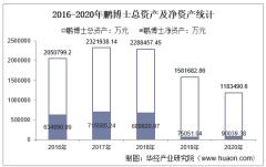 2016-2020年鹏博士(600804)总资产、营业收入、营业成本、净利润及股本结构统计