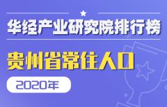 2020年贵州省各地区常住人口数量排行榜:贵阳市城镇化率最高,常住人口数量排名第三