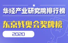 2020东京残奥会奖牌榜:中国蝉联五届夏季残奥会金牌榜、奖牌榜双第一