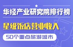 2021年第二季度50个重点旅游城市星级饭店营业收入排行榜:南京五星级饭店数量占比达42.5%