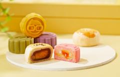 中秋节将至,甜品饮品化成趋势各大商家争相对外推出花式各样的月饼