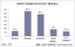 2020年青海通信业电信用户、电信业务及电信资产统计分析