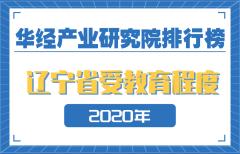 2020年辽宁省各地级市受教育程度排名:沈阳人均受教育年限为11.4年