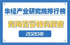 2020年青海省各市州受教育程度排名:西宁、海西州受教育程度超全省平均水平
